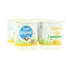 Bifidus saveur Citron 4x125g Bio