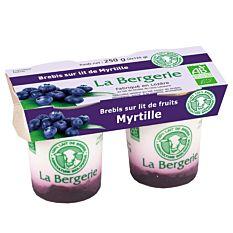 Yaourt Brebis Myrtille 2X125G Bio