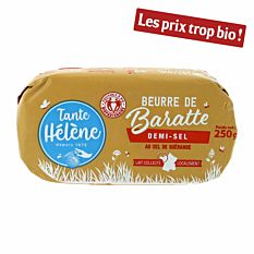 Beurre De Baratte Demi-sel 250g Bio
