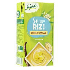 Dessert Riz Vanille 530G Bio