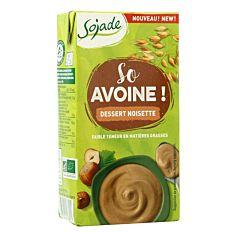 Dessert avoine noisette 530g Bio
