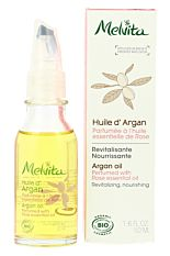 Huile d'Argan parfumée à la Rose 50ml Bio