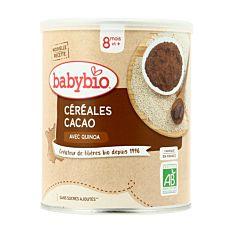 Céréales Cacao et Quinoa dès 8M 220g Bio