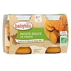 Petit pot Patate douce dès 4M 2x130g Bio