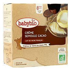 Grde Bb Cr Sem Cacao 4X85G 8M Bio
