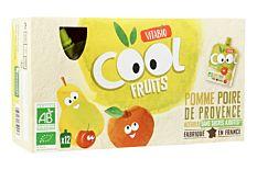 Gourdes fruits pomme poire 12x90g Bio
