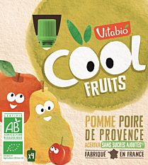 4X90G Vitabio Cool Frt Poire Bio