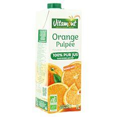 Jus d'orange pulpée 1L Bio