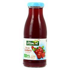 Pur jus de Cranberry 25cl Bio