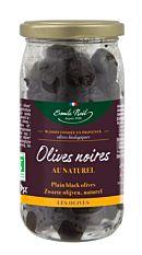 Olives Noires Au Naturel 250g Bio