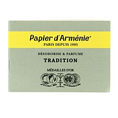 Carnet de papier d'Arménie Triple Bio