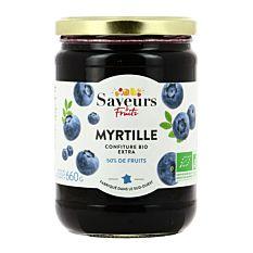 Confiture myrtille 660g Bio