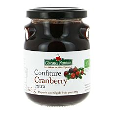 Confiture Cranberry 325G Bio