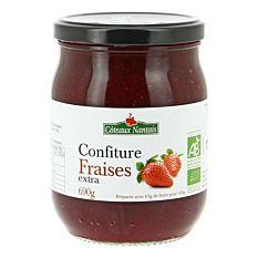 Confiture de fraises extra 690G Bio