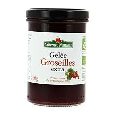Gelée de Groseilles extra 260g Bio