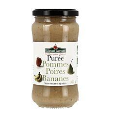 Puree Pom Poir Banane 360G Bio