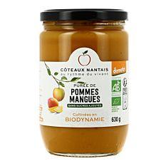 Puree Pomme Mangue 630G Bio