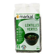 Lentilles Vert 500G Frce Bio