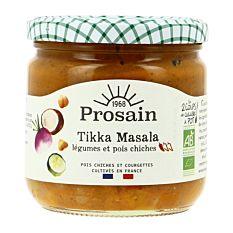Tikka Masala aux pois chiches et légumes 360g Bio