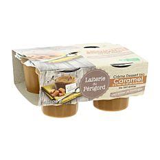 Creme Caramel Guerande 4X105G Bio