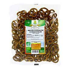 Bretzels D'épeautre à L'huile D'olive 150g Bio