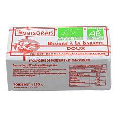 Beurre De Baratte Doux 82% Mg 125g Bio