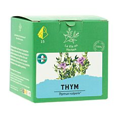 Infusions thym - 15 infusions Bio