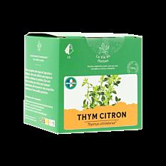 Infusion Thym Citron x15 Bio