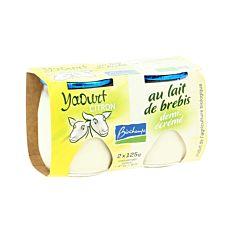 Yaourt au lait de brebis citron 2x125g Bio