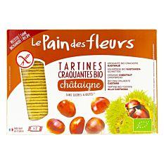 Tartines craquantes à la châtaigne sans gluten 300g Bio