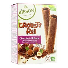 Crousty Roll Cacao Nois 125G Bio