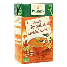 Velouté de tomates & lentilles corail 1L Bio
