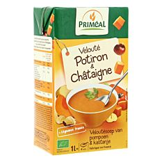 Velouté Potiron & Châtaigne 1L Bio