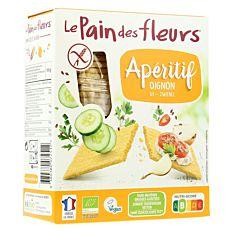 Tartines craquantes à l'oignon sans gluten 150g Bio