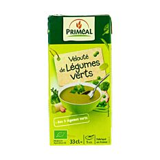 Velouté de légumes verts 33Cl Bio