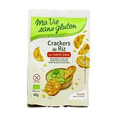 Crackers De Riz Au Piment Doux Sans Gluten 40g Bio