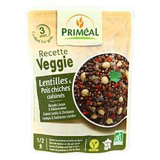 Lentilles & pois chiches cuisinés 250G Bio