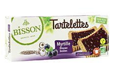Tartelettes myrtille 145g Bio