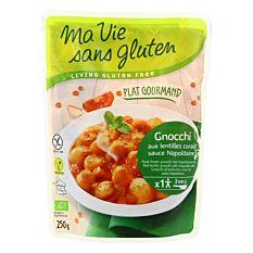 Gnocchi Sauce Napolitaine 250g Bio