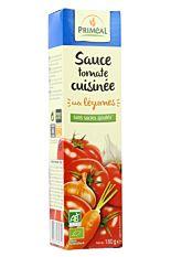 Sauce tomate cuisinée aux légumes 180g Bio