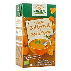 Velouté butternut & patate douce 1L Bio