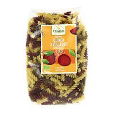 Spirales Quinoa 3 Couleur 500G Bio