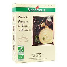Puree Pomme De Terre 2X97G Bio