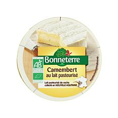 Camembert pasteurisé 250G Bio