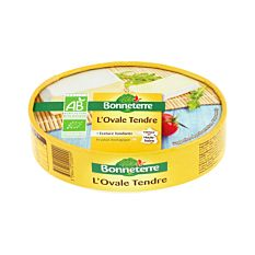 Fromage l'Ovale tendre 200G Bio