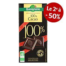 Tablette Degustation 100% 70G Bio