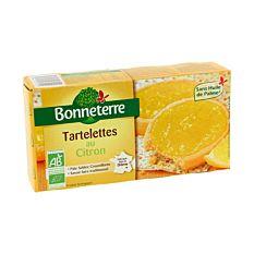 Tartelettes Citron 125G Bio