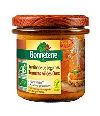 Tartinade de légumes tomates ail des ours 135G Bio