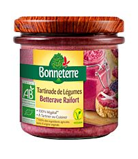 Tartinade de légumes - Betterave Raifort 135G Bio
