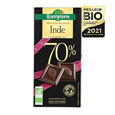 Tablette de Chocolat Noir 70% 80g Bio